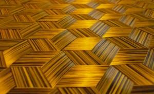Carbon / aramid triaxial fabric